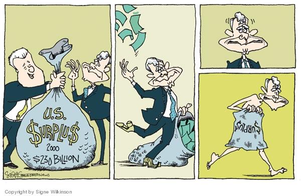 Cartoonist Signe Wilkinson  Signe Wilkinson's Editorial Cartoons 2008-10-08 George W. Bush