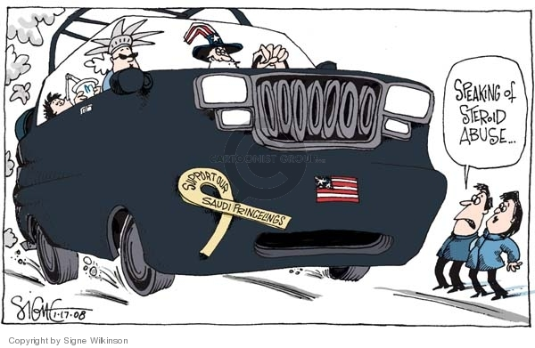 Signe Wilkinson  Signe Wilkinson's Editorial Cartoons 2008-01-17 Middle East