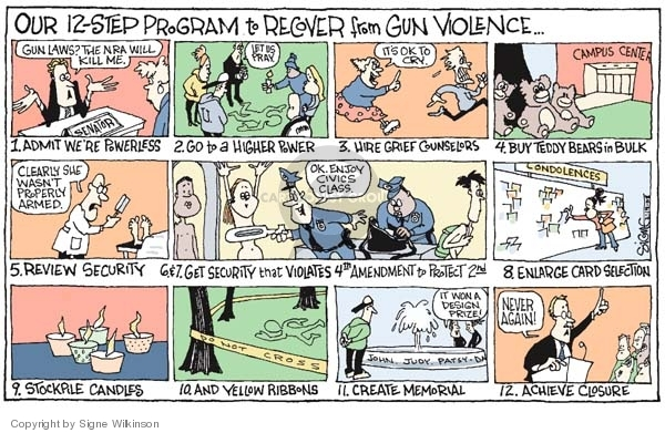 Cartoonist Signe Wilkinson  Signe Wilkinson's Editorial Cartoons 2008-02-19 national security
