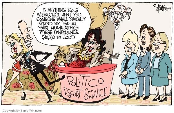 Signe Wilkinson  Signe Wilkinson's Editorial Cartoons 2008-03-12 $10
