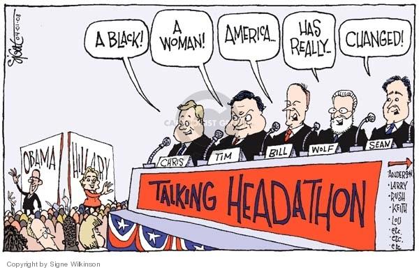 Signe Wilkinson  Signe Wilkinson's Editorial Cartoons 2008-04-01 Bill Clinton