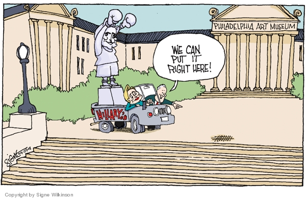 Signe Wilkinson  Signe Wilkinson's Editorial Cartoons 2008-04-03 put