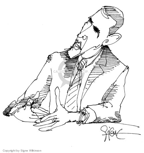 Cartoonist Signe Wilkinson  Signe Wilkinson's Editorial Cartoons 2008-04-15 2008 primary