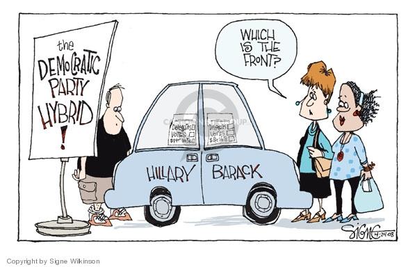 Signe Wilkinson  Signe Wilkinson's Editorial Cartoons 2008-04-24 political leader