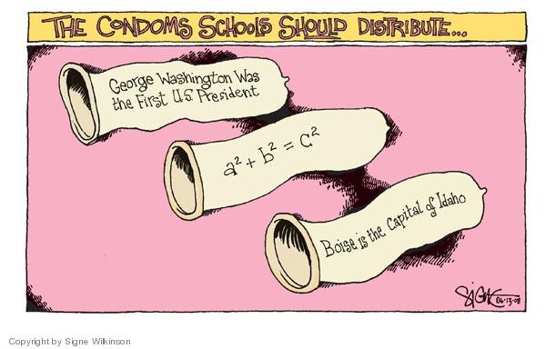 Signe Wilkinson  Signe Wilkinson's Editorial Cartoons 2008-06-13 George