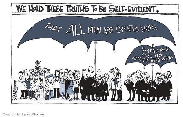 Cartoonist Signe Wilkinson  Signe Wilkinson's Editorial Cartoons 2008-06-16 truth