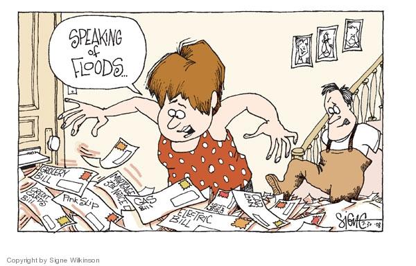 Signe Wilkinson  Signe Wilkinson's Editorial Cartoons 2008-06-30 homeowner