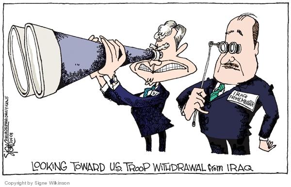 Cartoonist Signe Wilkinson  Signe Wilkinson's Editorial Cartoons 2008-07-14 agreement