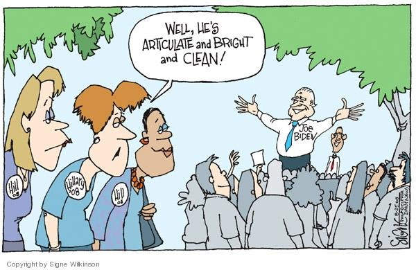 Signe Wilkinson  Signe Wilkinson's Editorial Cartoons 2008-08-25 Joe Biden