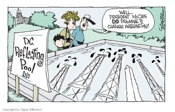 Signe Wilkinson  Signe Wilkinson's Editorial Cartoons 2008-09-09 2008 election