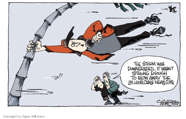 Signe Wilkinson  Signe Wilkinson's Editorial Cartoons 2008-09-15 24-hour news