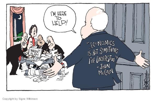 Signe Wilkinson  Signe Wilkinson's Editorial Cartoons 2008-09-26 financial crisis