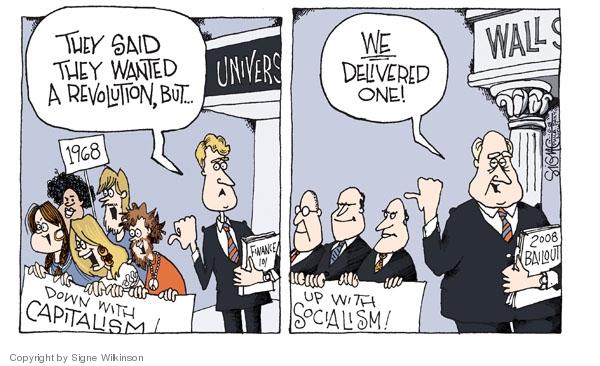 Signe Wilkinson  Signe Wilkinson's Editorial Cartoons 2008-10-10 financial crisis