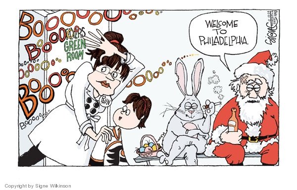 Signe Wilkinson  Signe Wilkinson's Editorial Cartoons 2008-10-13 Sarah Palin
