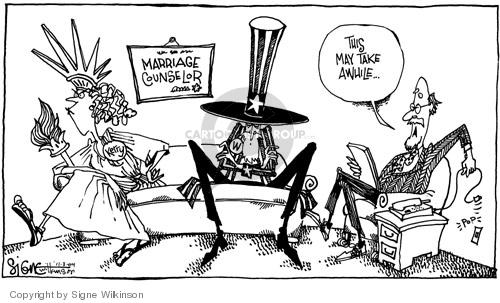 Signe Wilkinson  Signe Wilkinson's Editorial Cartoons 2004-11-02 2004
