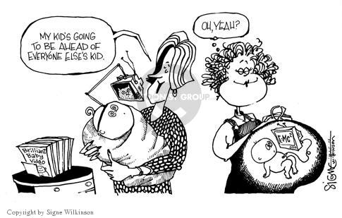 Cartoonist Signe Wilkinson  Signe Wilkinson's Editorial Cartoons 2003-11-04 video