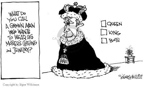 Signe Wilkinson  Signe Wilkinson's Editorial Cartoons 2003-11-13 Elizabeth