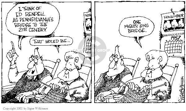 Signe Wilkinson  Signe Wilkinson's Editorial Cartoons 2002-11-14 21st