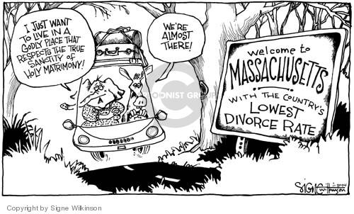 Cartoonist Signe Wilkinson  Signe Wilkinson's Editorial Cartoons 2004-11-30 true