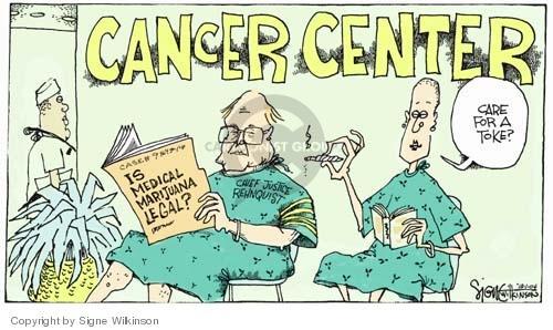 Signe Wilkinson  Signe Wilkinson's Editorial Cartoons 2004-12-01 cancer