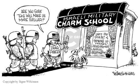 Signe Wilkinson  Signe Wilkinson's Editorial Cartoons 2003-12-08 Israel