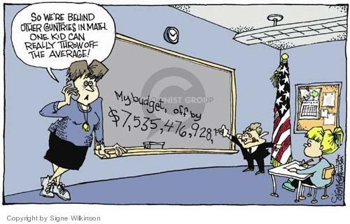 Cartoonist Signe Wilkinson  Signe Wilkinson's Editorial Cartoons 2004-12-08 George W. Bush