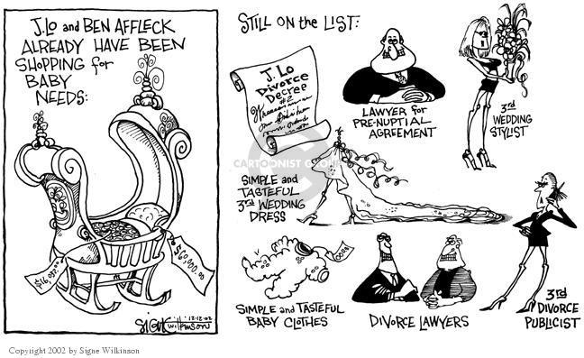 Signe Wilkinson  Signe Wilkinson's Editorial Cartoons 2002-12-12 $16