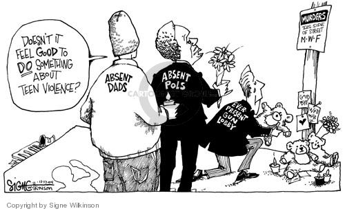 Cartoonist Signe Wilkinson  Signe Wilkinson's Editorial Cartoons 2004-12-17 political lobby