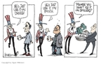 Cartoonist Signe Wilkinson  Signe Wilkinson's Editorial Cartoons 2008-12-30 drug