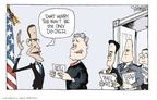 Cartoonist Signe Wilkinson  Signe Wilkinson's Editorial Cartoons 2009-01-23 science politicization