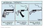 Cartoonist Signe Wilkinson  Signe Wilkinson's Editorial Cartoons 2009-04-07 killer