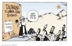 Cartoonist Signe Wilkinson  Signe Wilkinson's Editorial Cartoons 2009-04-16 Muslim