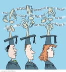 Cartoonist Signe Wilkinson  Signe Wilkinson's Editorial Cartoons 2009-05-01 education