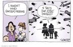 Cartoonist Signe Wilkinson  Signe Wilkinson's Editorial Cartoons 2009-07-24 concealed gun