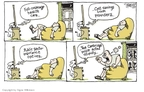 Cartoonist Signe Wilkinson  Signe Wilkinson's Editorial Cartoons 2009-07-29 James