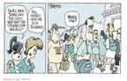 Cartoonist Signe Wilkinson  Signe Wilkinson's Editorial Cartoons 2009-08-07 killer
