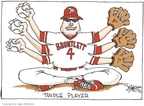 Cartoonist Signe Wilkinson  Signe Wilkinson's Editorial Cartoons 2009-08-26 Philadelphia Phillies