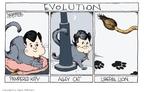Cartoonist Signe Wilkinson  Signe Wilkinson's Editorial Cartoons 2009-08-27 cat