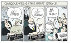 Cartoonist Signe Wilkinson  Signe Wilkinson's Editorial Cartoons 2009-08-28 Federal Reserve Bank