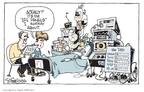 Cartoonist Signe Wilkinson  Signe Wilkinson's Editorial Cartoons 2009-09-08 euthanasia