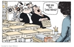 Cartoonist Signe Wilkinson  Signe Wilkinson's Editorial Cartoons 2009-09-29 drug
