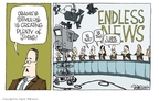 Cartoonist Signe Wilkinson  Signe Wilkinson's Editorial Cartoons 2009-10-21 24-hour cable