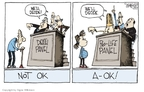 Cartoonist Signe Wilkinson  Signe Wilkinson's Editorial Cartoons 2009-11-12 euthanasia