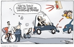 Cartoonist Signe Wilkinson  Signe Wilkinson's Editorial Cartoons 2009-11-30 danger