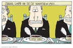 Cartoonist Signe Wilkinson  Signe Wilkinson's Editorial Cartoons 2009-12-16 food bank