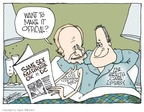 Cartoonist Signe Wilkinson  Signe Wilkinson's Editorial Cartoons 2009-12-19 congressman