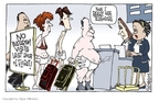 Cartoonist Signe Wilkinson  Signe Wilkinson's Editorial Cartoons 2009-12-29 diaper