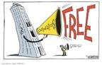 Cartoonist Signe Wilkinson  Signe Wilkinson's Editorial Cartoons 2010-01-22 John McCain