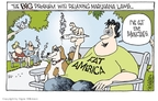Cartoonist Signe Wilkinson  Signe Wilkinson's Editorial Cartoons 2010-04-08 drug