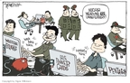 Cartoonist Signe Wilkinson  Signe Wilkinson's Editorial Cartoons 2010-04-14 nuclear weapon